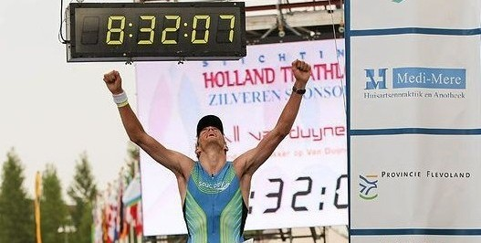 Finish holland triathlon Almere 2012